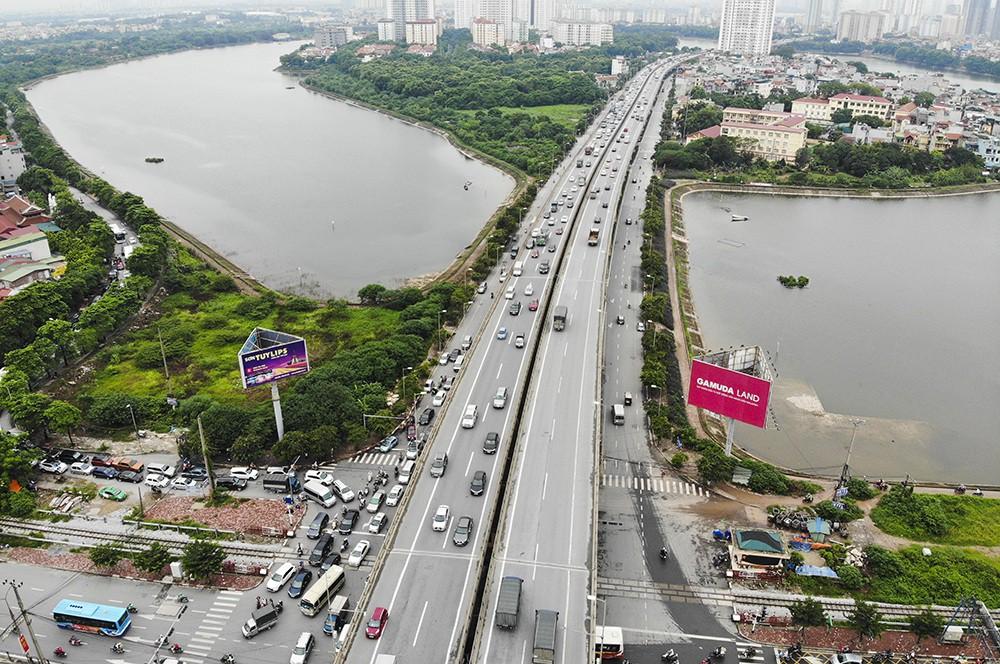 Những giao lộ khổng lồ thay đổi diện mạo cửa ngõ Thủ đô - Ảnh 16.