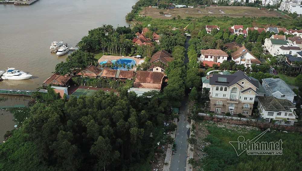 Cận cảnh hành lang bảo vệ sông Sài Gòn bị 'độc chiếm' - Ảnh 11.