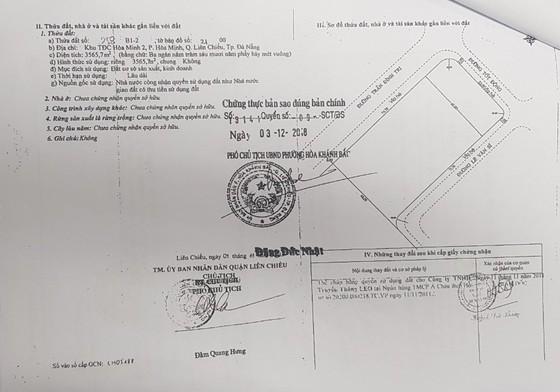 Đà Nẵng cảnh báo người dân về thông tin rao bán đất sản xuất, kinh doanh thành đất ở - Ảnh 3.