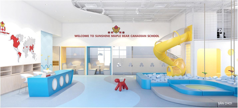 Tây Hồ Tây sắp có thêm một trường mầm non 'chuẩn Canada' đi vào hoạt động - Ảnh 1.