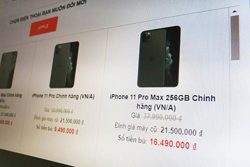 Dịch vụ đổi iPhone cũ lấy iPhone 11 nở rộ - Ảnh 2.
