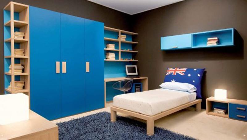 Căn phòng của trẻ được thiết kế bằng gam màu sặc sỡ - Ảnh 2.