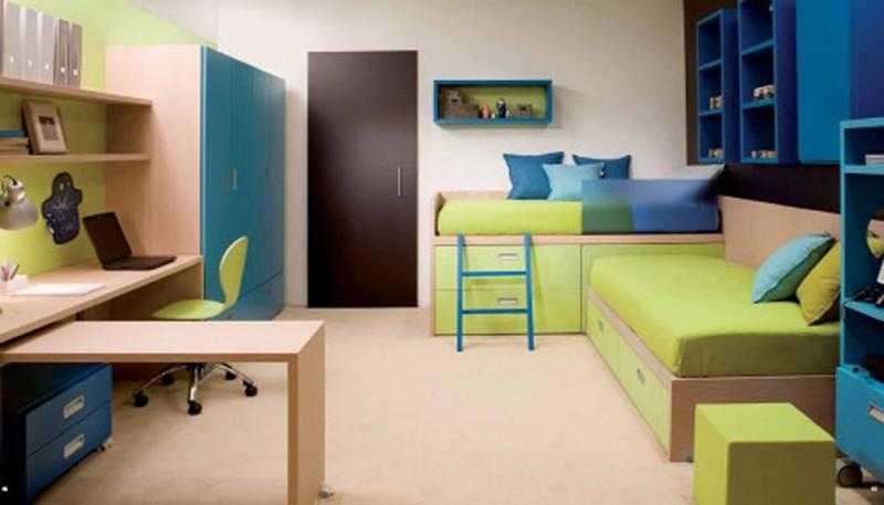 Căn phòng của trẻ được thiết kế bằng gam màu sặc sỡ - Ảnh 4.