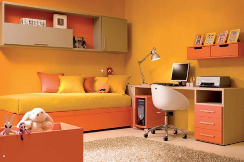 Căn phòng của trẻ được thiết kế bằng gam màu sặc sỡ - Ảnh 7.