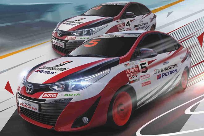 Toyota Vios phiên bản xe đua tung ra thị trường - Ảnh 3.