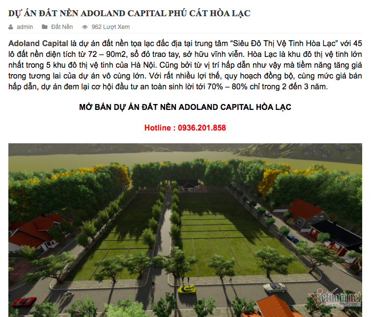 Xuất hiện dự án 'ma' kiểu Alibaba ở Hà Nội - Ảnh 5.