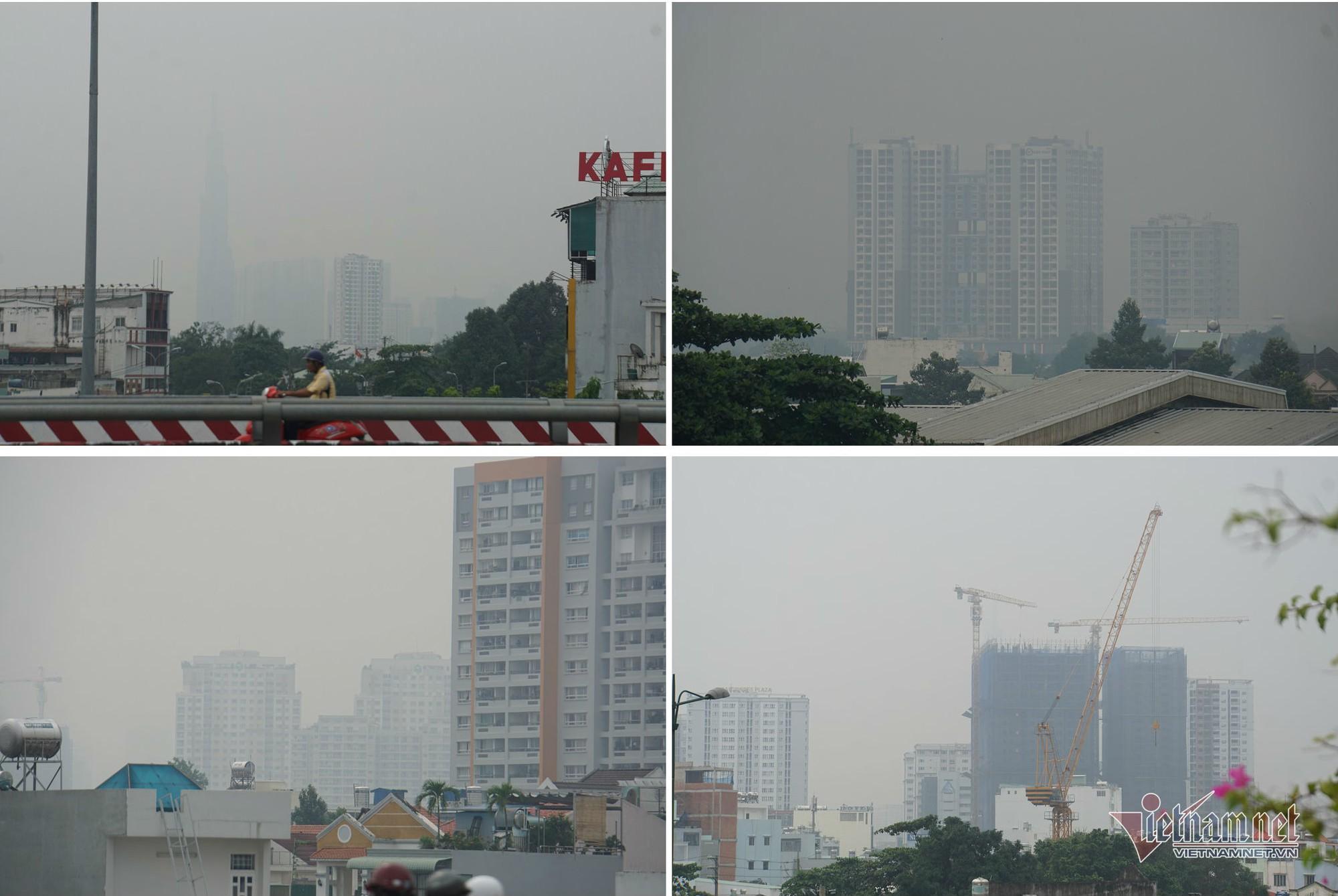 Sương mù ở Sài Gòn có thể do ô nhiễm không khí nặng - Ảnh 2.