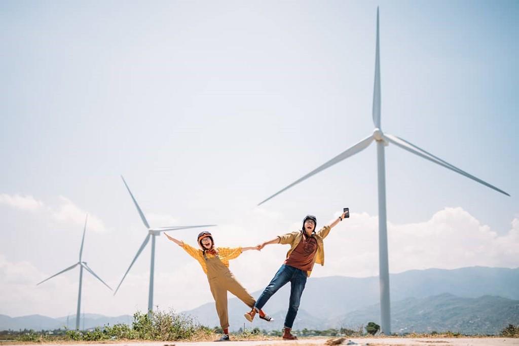 4 cánh đồng quạt gió ở Việt Nam được hội mê sống ảo săn lùng - Ảnh 1.
