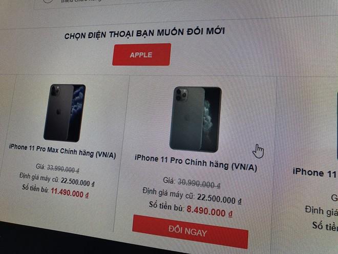 Đổi iPhone cũ, chỉ bù thêm 8,5 triệu để nhận iPhone 11 Pro ở Việt Nam - Ảnh 1.