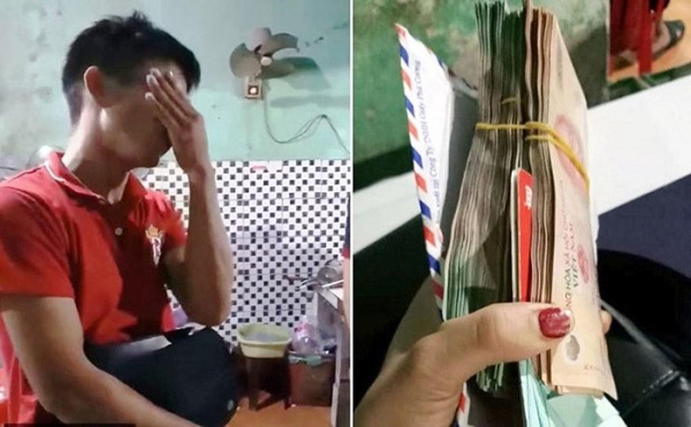 Chàng trai òa khóc khi được trả 200 triệu đồng bỏ quên trong quán ăn - Ảnh 3.