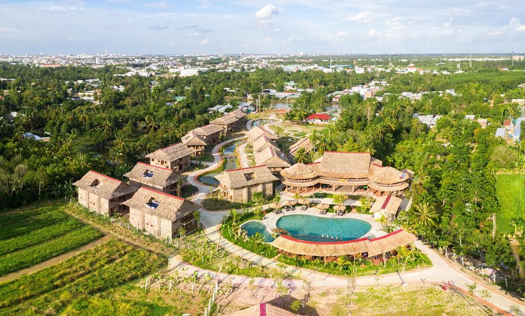 4 khu nghỉ dưỡng có hồ bơi sang chảnh cho kì nghỉ ở Cần Thơ - Ảnh 1.