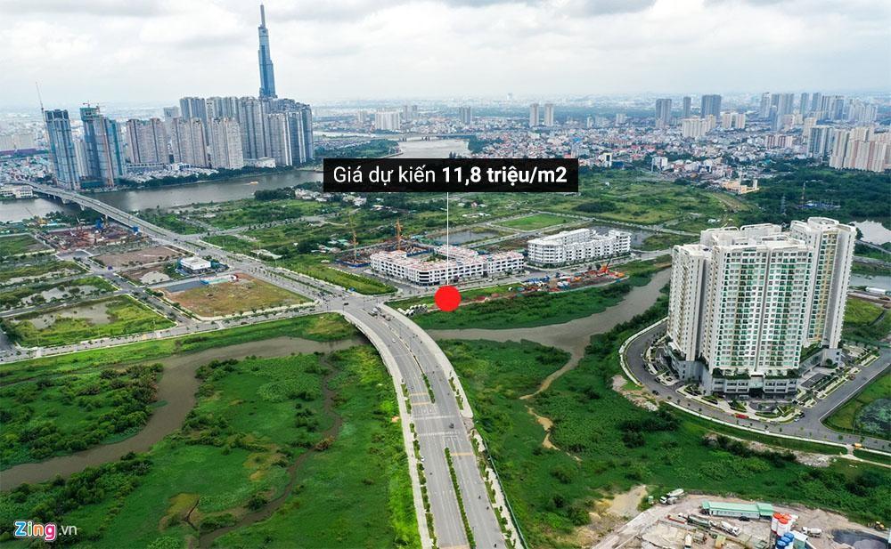 Hai khu 'đất kim cương' ở Thủ Thiêm dự kiến đấu giá từ hơn 10 triệu/m2 - Ảnh 1.
