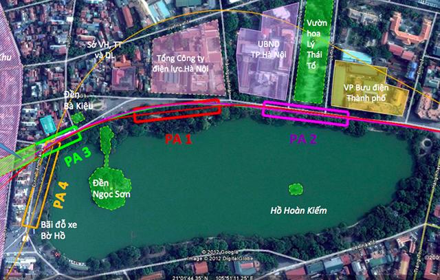 Chủ tịch Hà Nội lý giải vì sao không thể 'nắn' ga C9 đường sắt đô thị - Ảnh 2.