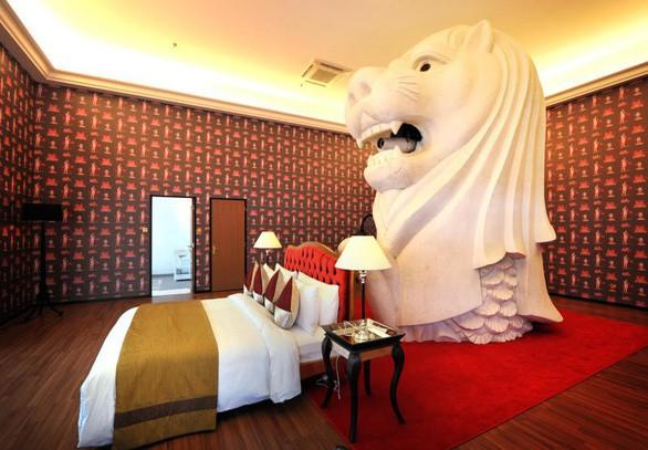 7 tượng sư tử biển Merlion ở Singapore có gì đặc biệt? - Ảnh 6.