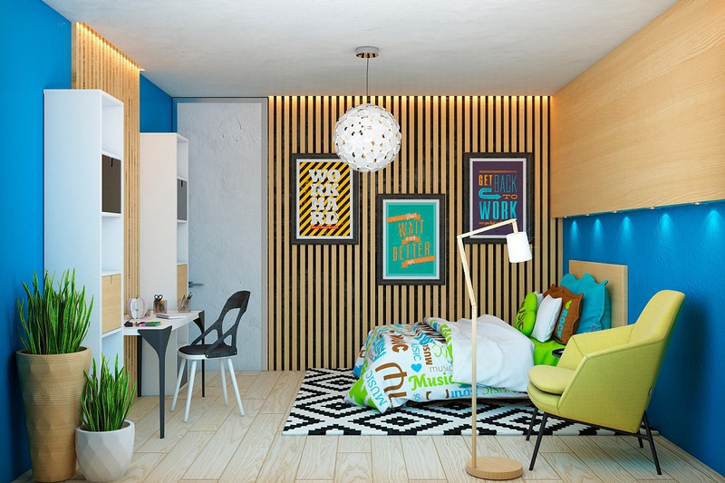 Nội thất căn hộ truyền cảm hứng với trần bê tông và sàn gỗ - Ảnh 5.