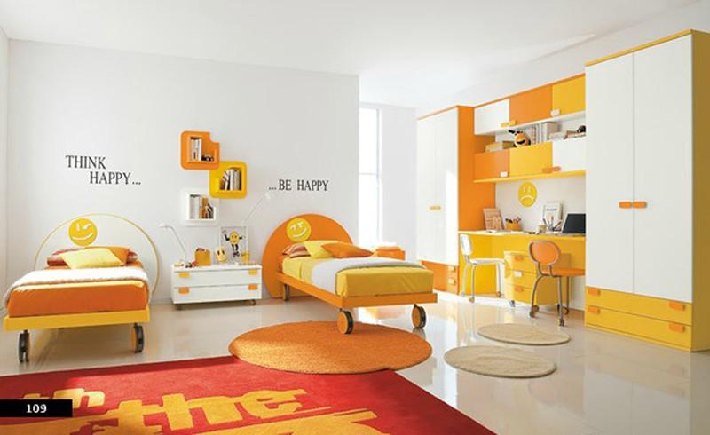 Thiết kế phòng của trẻ bằng sự kết hợp màu trắng với màu sắc sặc sỡ - Ảnh 10.