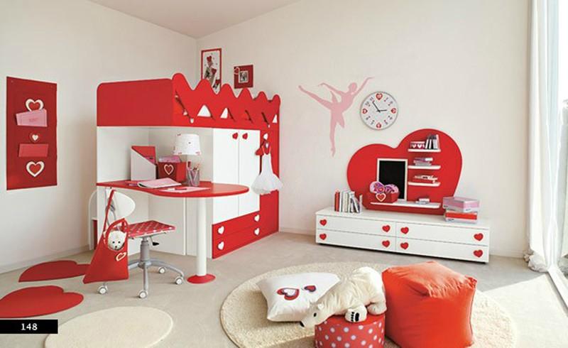 Thiết kế phòng của trẻ bằng sự kết hợp màu trắng với màu sắc sặc sỡ - Ảnh 2.