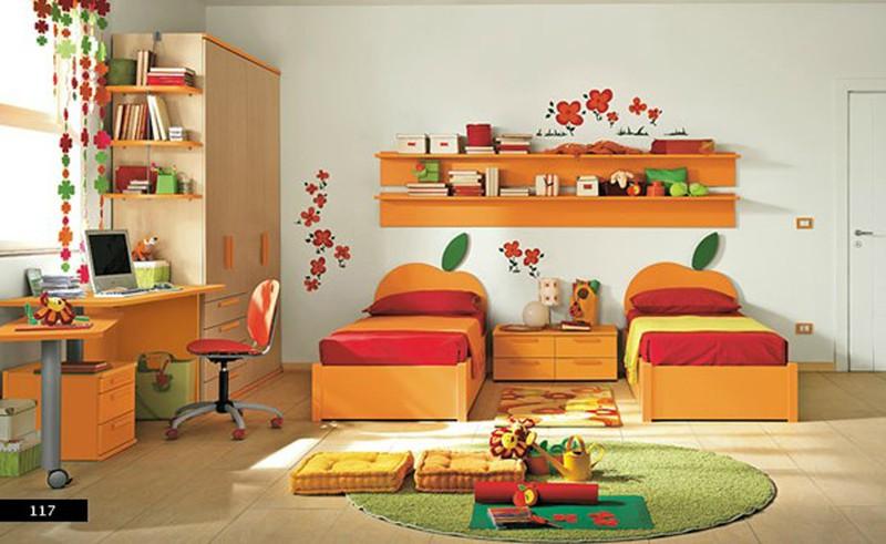 Thiết kế phòng của trẻ bằng sự kết hợp màu trắng với màu sắc sặc sỡ - Ảnh 3.