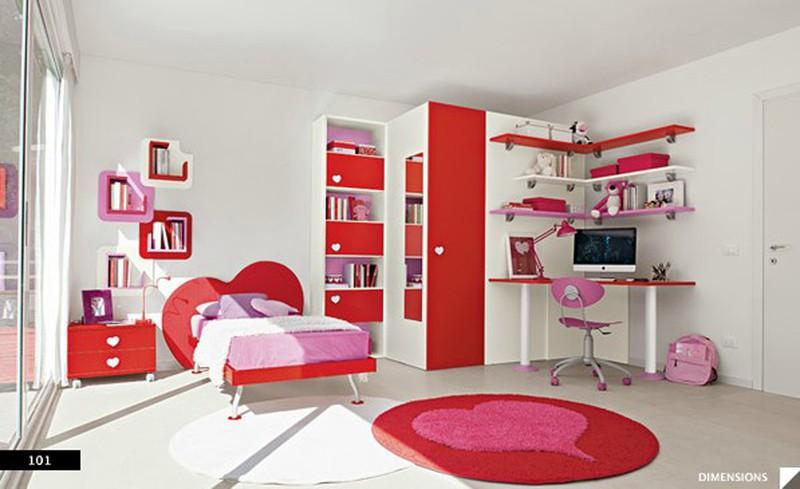 Thiết kế phòng của trẻ bằng sự kết hợp màu trắng với màu sắc sặc sỡ - Ảnh 4.