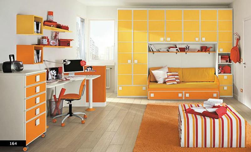 Thiết kế phòng của trẻ bằng sự kết hợp màu trắng với màu sắc sặc sỡ - Ảnh 6.