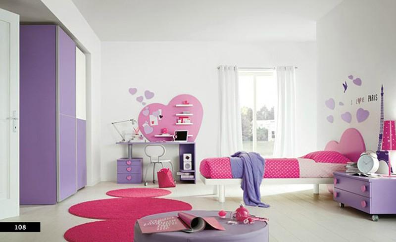 Thiết kế phòng của trẻ bằng sự kết hợp màu trắng với màu sắc sặc sỡ - Ảnh 8.