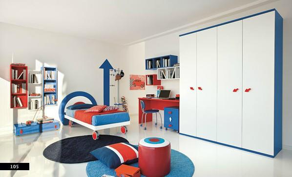 Thiết kế phòng của trẻ bằng sự kết hợp màu trắng với màu sắc sặc sỡ - Ảnh 9.
