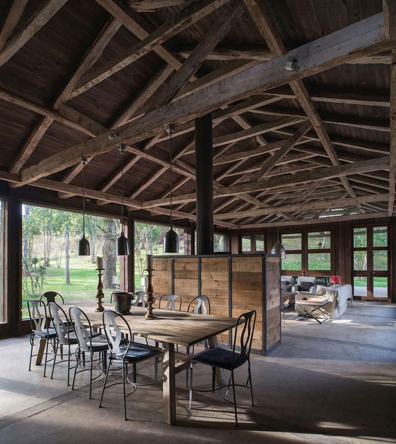Tham khảo cách thiết kế phòng ăn đơn giản, mộc mạc và tinh tế - Ảnh 4.
