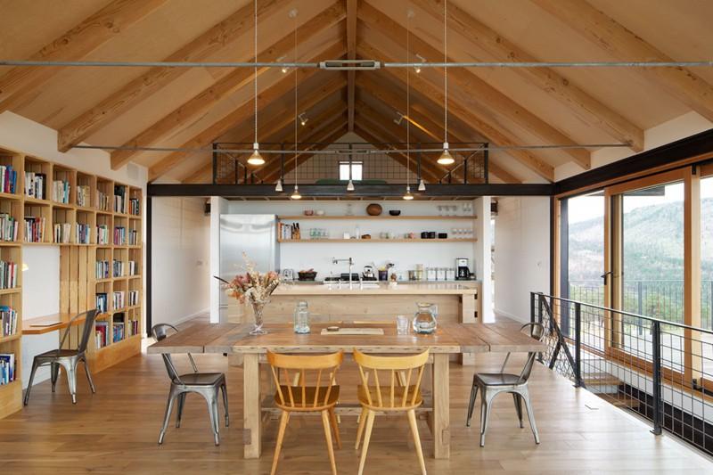 Tham khảo cách thiết kế phòng ăn đơn giản, mộc mạc và tinh tế - Ảnh 9.