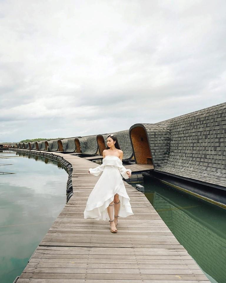 Tuyet tac resort noi tren mat nuoc hut khach check-in tai Bangkok hinh anh 1
