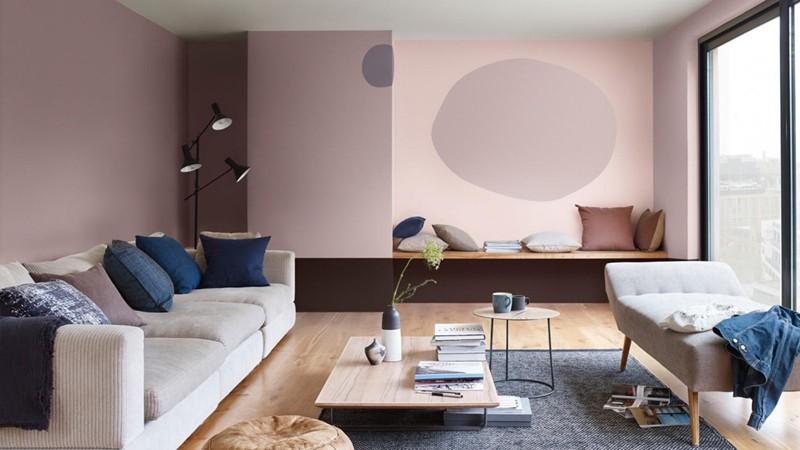 Bí quyết trang trí phòng khách màu hồng khiến vạn người mê - Ảnh 12.