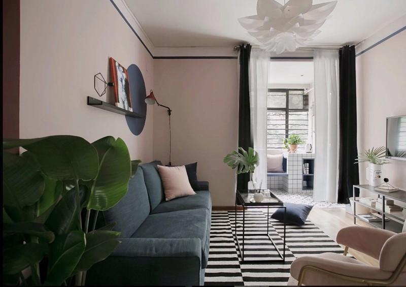 Bí quyết trang trí phòng khách màu hồng khiến vạn người mê - Ảnh 13.