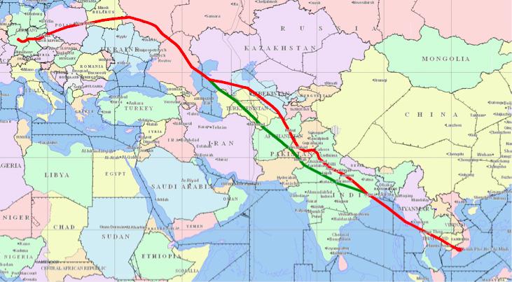 Hàng không châu Á tránh bay qua Iran - Ảnh 1.