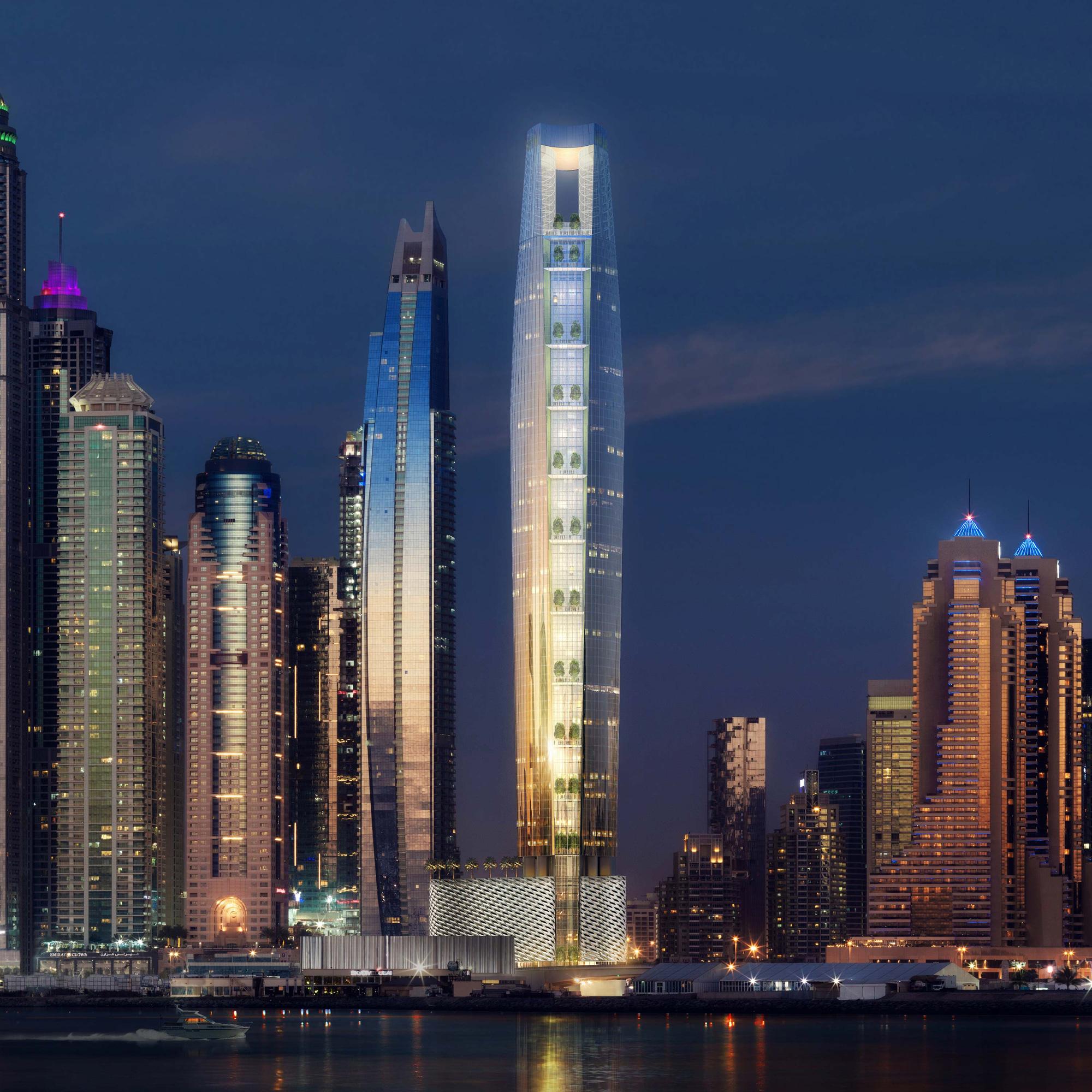 Chiêm ngưỡng siêu khách sạn cao nhất thế giới tại Dubai - Ảnh 1.