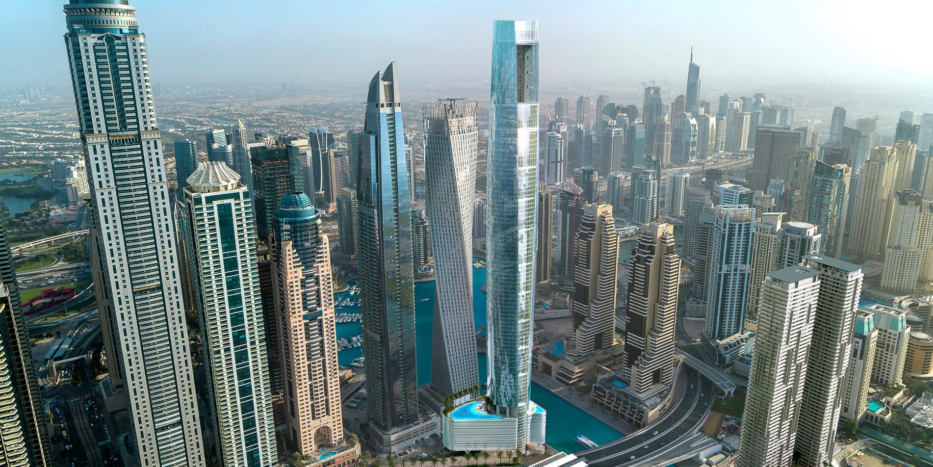 Chiêm ngưỡng siêu khách sạn cao nhất thế giới tại Dubai - Ảnh 8.