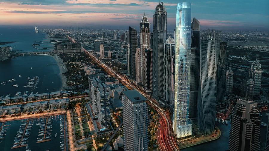 Chiêm ngưỡng siêu khách sạn cao nhất thế giới tại Dubai - Ảnh 2.