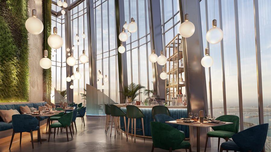 Chiêm ngưỡng siêu khách sạn cao nhất thế giới tại Dubai - Ảnh 4.