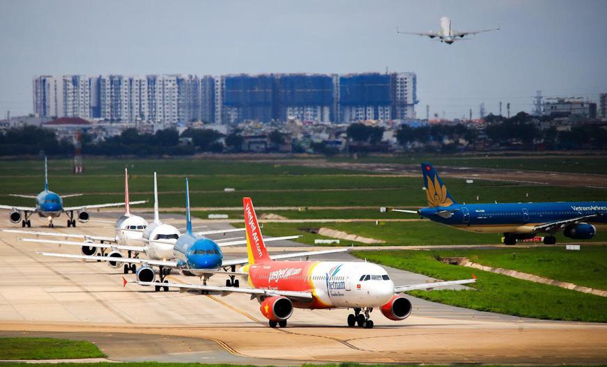Thị phần hàng không Việt: Vietnam Airlines giảm, Vietjet, Bamboo Airways tăng đều đều - Ảnh 1.