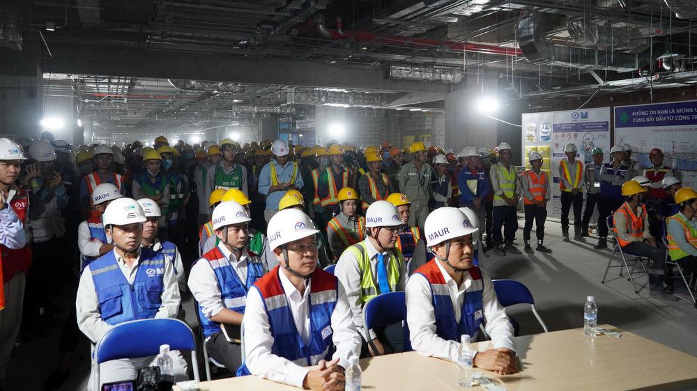 TP HCM cam kết đưa dự án metro 1 vào đúng tiến độ  - Ảnh 2.
