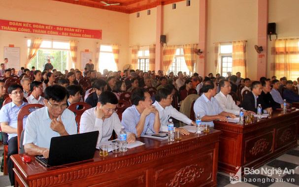 Tỉnh Nghệ An đối thoại với người dân bị ảnh hưởng trong dự án KCN WHA - Ảnh 1.