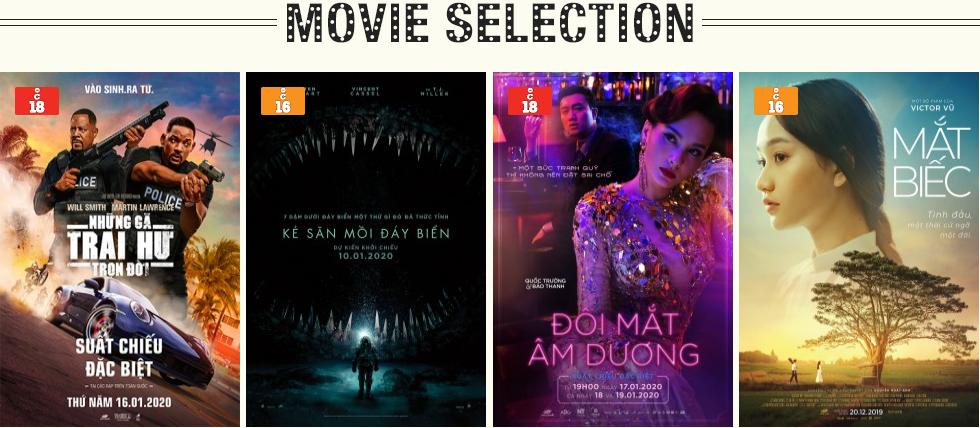 Lịch chiếu phim ngày mai (21/1) tại một số rạp CGV Hà Nội - Ảnh 1.