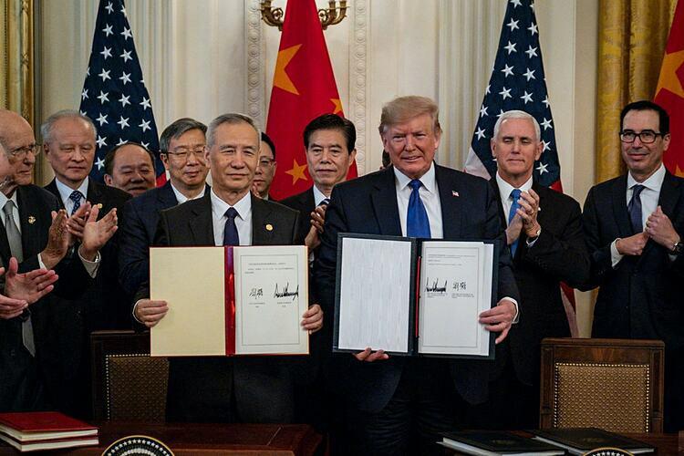 5 điểm chính trong thỏa thuận thương mại Mỹ - Trung Quốc - Ảnh 1.