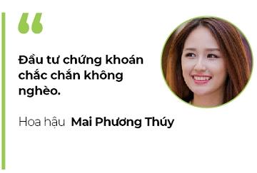 Hoa hậu Mai Phương Thúy: Đầu tư chứng khoán chắc chắn không nghèo - Ảnh 2.