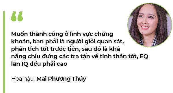 Hoa hậu Mai Phương Thúy: Đầu tư chứng khoán chắc chắn không nghèo - Ảnh 3.