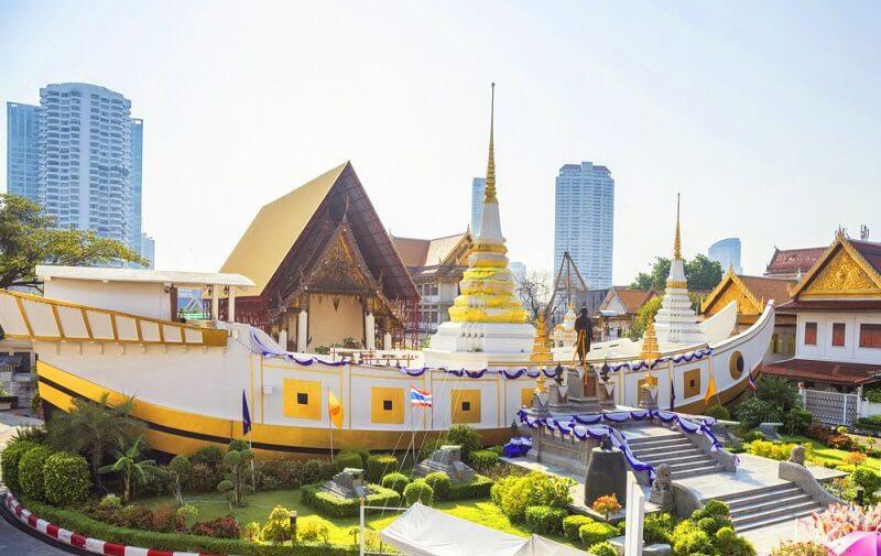 Du lịch Thái Lan: Những ngôi chùa nhất định bạn phải ghé thăm khi tới Bangkok - Ảnh 3.