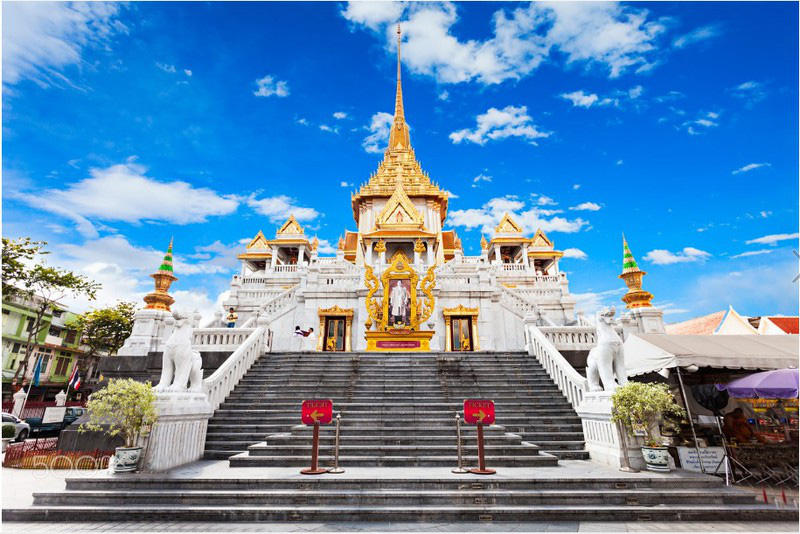 Du lịch Thái Lan: Những ngôi chùa nhất định bạn phải ghé thăm khi tới Bangkok - Ảnh 5.