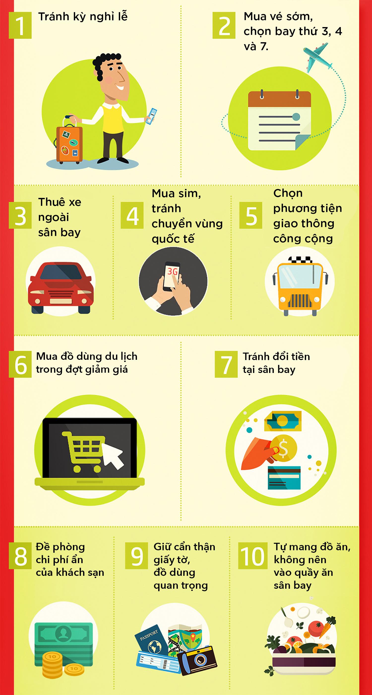 10 cách tiết kiệm tiền khi đi du lịch - Ảnh 1.