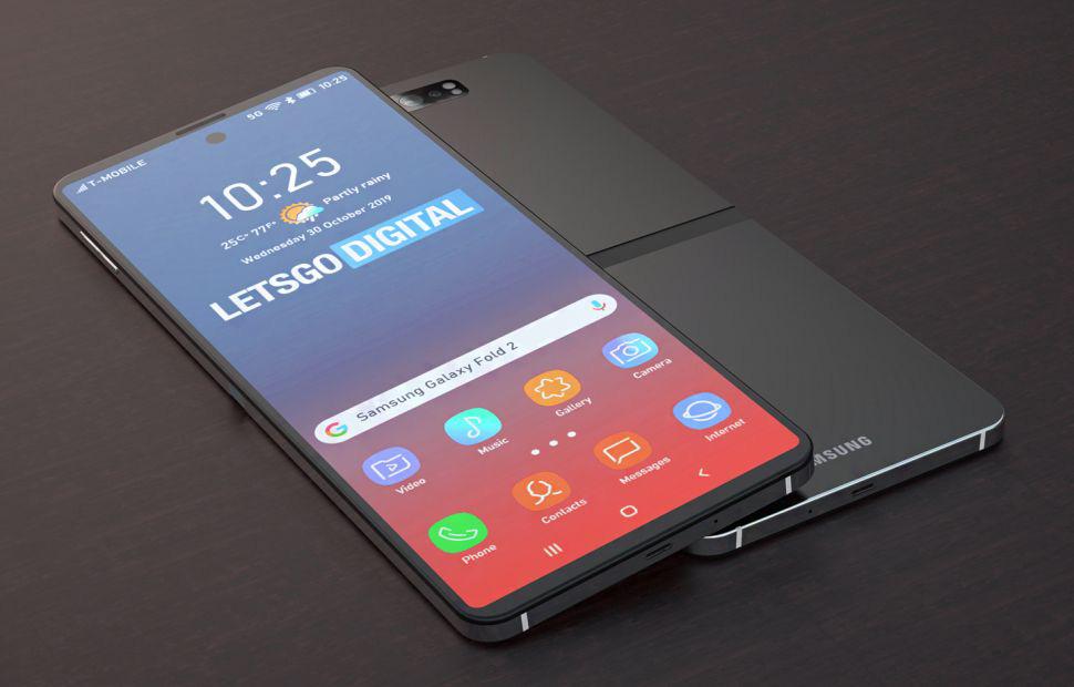 Galaxy Z Flip, chiếc điện thoại màn hình gập thứ 2 của Samsung chính thức lộ diện - Ảnh 2.
