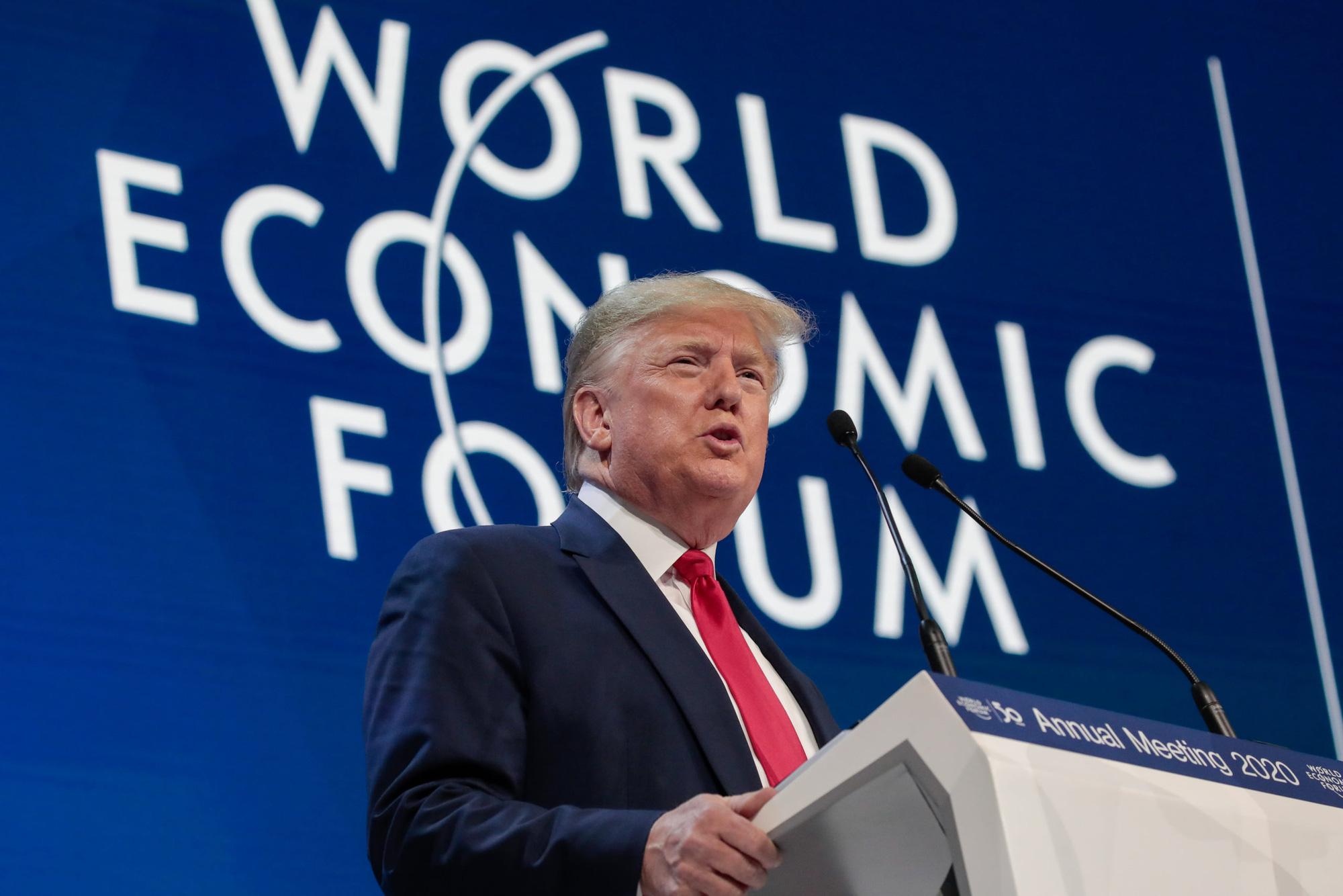 Tổng thống Trump: Sự thịnh vượng của Mỹ là không thể phủ nhận, vô tiền khoáng hậu và không thể so sánh - Ảnh 3.