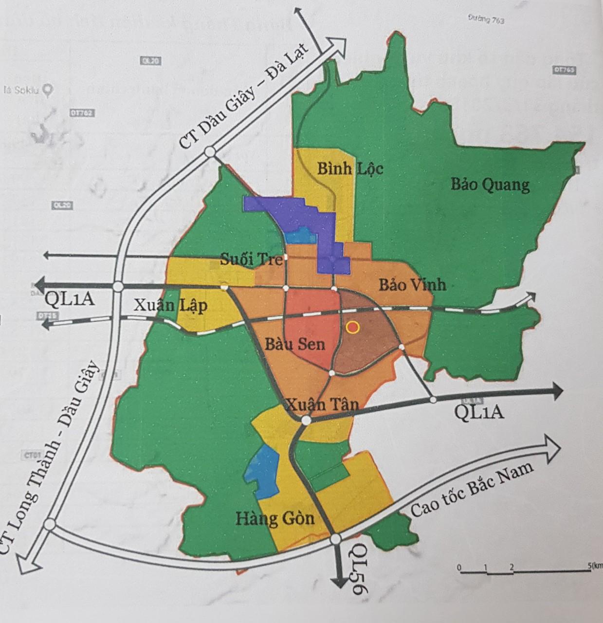 Đồng Nai: Thêm một qui hoạch thành phố rộng 191 km2 cạnh cao tốc Long Thành - Dầu Giây - Ảnh 1.
