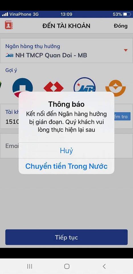 Ngày cuối cùng làm việc trước khi nghỉ Tết, ATM tại Sài Gòn vẫn hết tiền, giao dịch trên ngân hàng điện tử cũng kẹt - Ảnh 4.